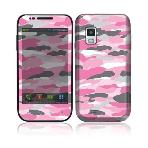 Pink Camo Decorative Skin Cover Decal Sticker for Samsung Fascinate SCH i500 Cell Phone