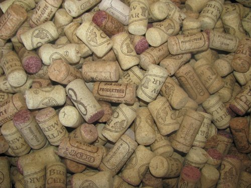 Assorted Printed Wine Corks, 50, Only Real Corks, No Synthetics - For Crafts Projects!