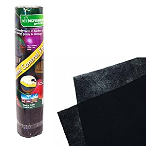 WEED CONTROL FABRIC 1.5M X 8M VEG GARDEN SEEDS HEDGE POND