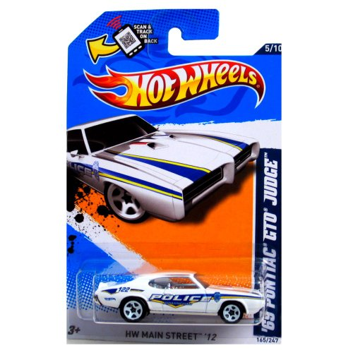 69 Pontiac GTO Judge '12 Hot Wheels 165/247 Vehicle - 1