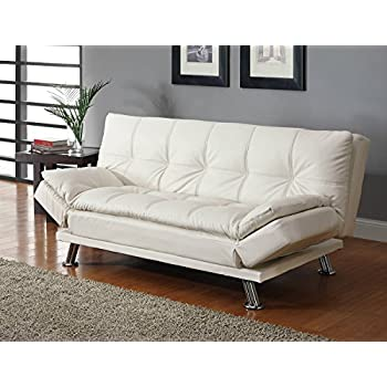 Coaster Sofa Bed-White