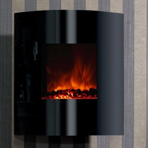 Dream Flame Helix Convex Electric Fireplace photo B006NZR50E.jpg