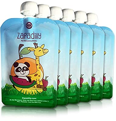 Zapadilly Reusable Food Pouch (6 Pk-6oz) Cute Durable and Fun by Zapadilly that we recomend individually.