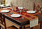 Stoa Paris STPTBLRUN2 Silk Table Linen Runner - Multicolor