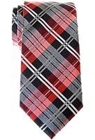 Retreez Men's Tartan Check Woven Microfiber Tie
