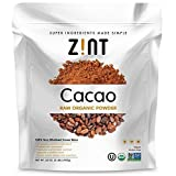Zint Organic Cacao Powder (32 oz): Raw Non-Alkalized Chocolate With Powerful Antioxidants and Resveratrol (Tamaño: 32 oz)