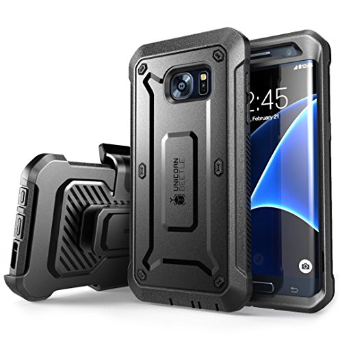 Galaxy-S7-Edge-Case-SUPCASE-Full-body-Rugged-Holster-Case-with-Built-in-Screen-Protector-for-Samsung-Galaxy-S7-Edge-2016-Release-Unicorn-Beetle-PRO-Series-Retail-Package-BlackBlack