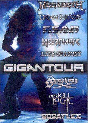 GIGANTOUR DVD by