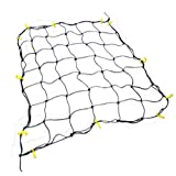 "Extra-Large 72"" x 96"" Cargo Net with 28 Hooks - Stretches to 10 x 14!"