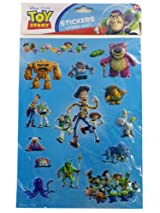 Toy Story 3D Graphic Stickers - Disney Pixar 1pc Sticker Sheet
