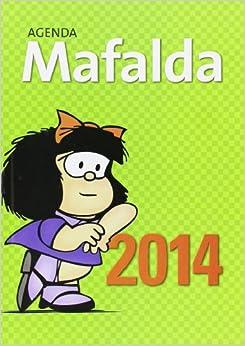 Agenda Mafalda 2014, Agenda anillada Mafalda 2014, Agenda Quino 2014