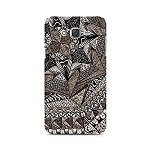 Mobicture Geometric Abstract Doodle Premium Printed Case For Samsung J5