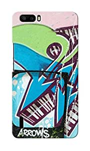 KnapCase Abstract Graffiti Designer 3D Printed Case Cover For Huwaei Honor 6 Plus
