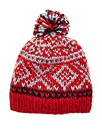 Canadian Gorro Soft Thermal (Rojo / Gris)