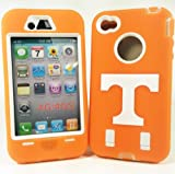 Tennessee Volunteers IPhone 4/4S Armored Core Defender Case - Fast Shipping from USA Warehouse