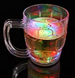 GLOW POINT LED BEER MUG With Disco Led Lights / Liquid Activated LED Light Flashing Bear Mug Galss / Fun / Enjoyment in Car - Volkswagen Vento1.5 TDI Comfortline AT Diesel