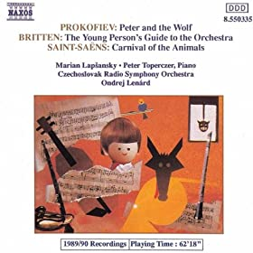 Peter and the Wolf, Op. 67: The Duck jumps out of the pond