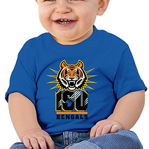 JJVAT Baby's Idaho State University Shirt For 2-24 Months Boy's & Girl's RoyalBlue Size 12 Months (Selfie Samsung Galaxy S4 Mini compare prices)