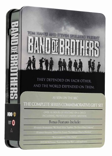 Band Of Brothers: Complete HBO Series (Commemorative 6-Disc Gift Set In Tin Box) [DVD]