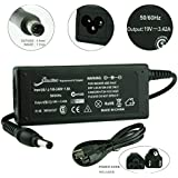[2 Years Warranty] 3 Prongs - Elivebuy® 19V 3.42A 65W AC Adapter/Power Supply&Cord for Acer Aspire One