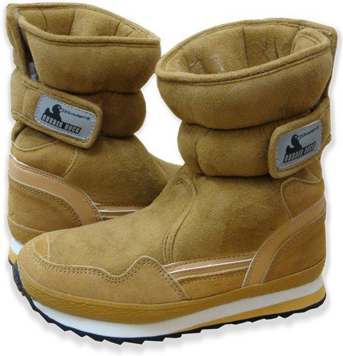 Snowjoggers - Original Rubberduck Snowjoggers (Sporty Chestnut Suede)