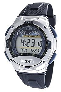 Casio - W-753-2A - Sports - Montre Mixte - Quartz Digital - Cadran LCD - Bracelet Résine Bleu