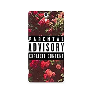Ebby Explicit Premium Printed Case For Sony Xperia C5