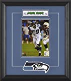Aaron Curry Seattle Seahawks Framed 6x8 Photograph with Team Logo & Plate at Amazon.com