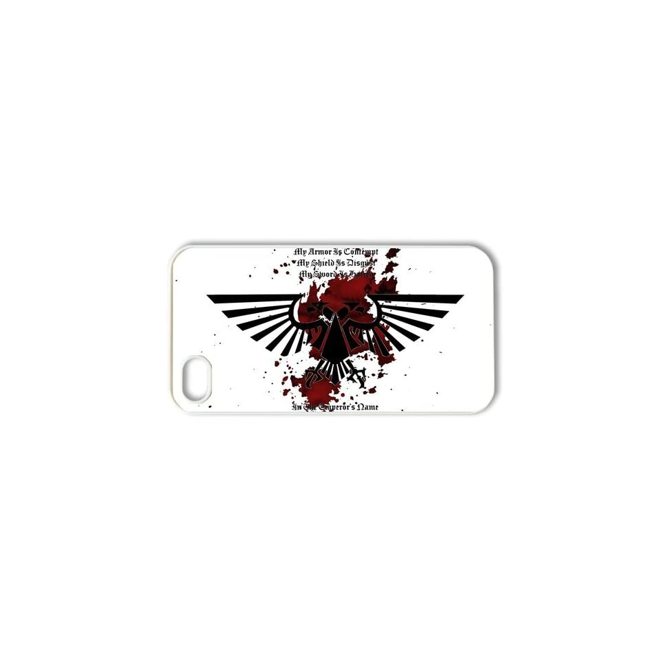 Warhammer 40K Back Proctive Custom Case Cover for iPhone 4 4S 4G   iPhone Case Design   1391734