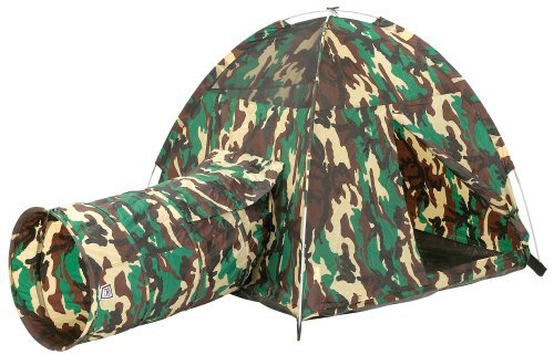 Command Hq Tent & Tunnel Com. Children, Kids, Game front-973242