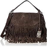Buffalo Damen Bag 1035-02 Rock Suede Umhängetaschen, 26x20x9 cm