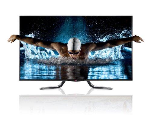 LG 47LA7909 119,4 cm (47 Zoll) Cinema 3D LED-Backlight-Fernseher, EEK A+ (Full HD, 800Hz MCI, Smart TV, HbbTV, DVB-T/C/S, Miracast, WLAN) schwarz
