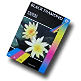 50 Sheets - Black Diamond White A3 220gsm Matt Canvas Inkjet Paper for Professional Photographic and Art prints (Please NOTE: This is NOT 100% Cotton Canvas)by Black Diamond