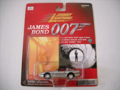 Johnny Lightning James Bond 007 A View to a Kill Chevy Corvette