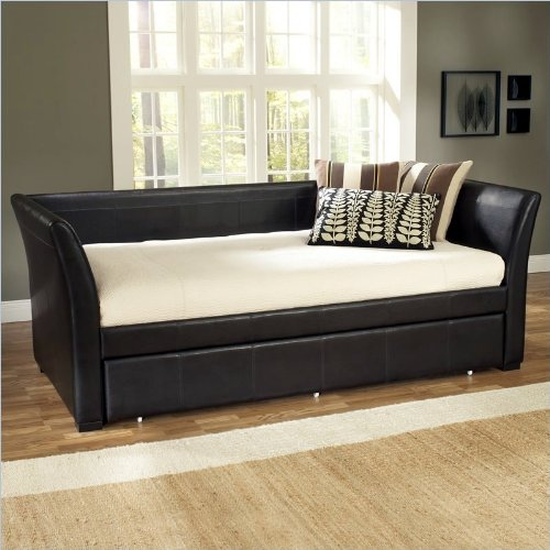 cheap hillsdale furniture 1519dbt malibu day bed brown leather save