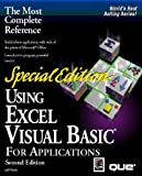 Using Excel Visual Basic for Applications, Special Edition (Using . (Que)) (078970269X) by Jeff Webb