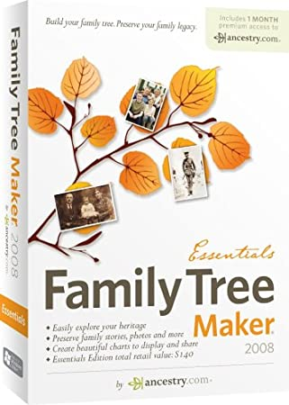 Family Tree Maker 2008 Essentials [OLD VERSION]