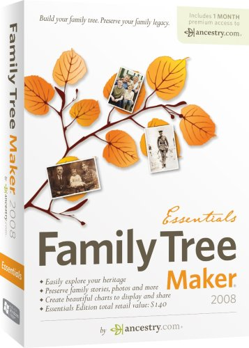 Encore Family Tree Maker 2008 Essentials (OLD VERSION)