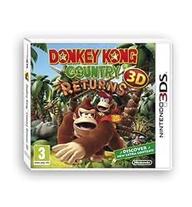 Donkey Kong Country Returns 3D Nintendo 3DS Game UK PAL
