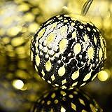 Decor-lights-Amazlab-T2BS-24-meter75-ft-Silver-Metal-Globe-LED-String-Lights-Battery-Powered-14-LED-Lighted-Globes-Indoor-Decoration-Lights-Warm-White-Glow