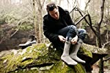 Merino Wool Socks 4pairs in Large 2x Charcoal Black, 1xbrown, 1xnavy (fits Mens shoe size 8-12)