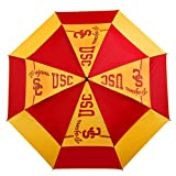 NCAA USC Golf Umbrella, WindSheer II - Auto Open