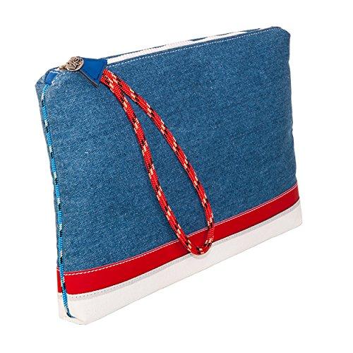 Busta Antiurto Rinforzata BUSTA PC Portatile L4K3 LAKE Blu Jeans
