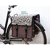 EMKcycles Sacoche de vélo double pour femme