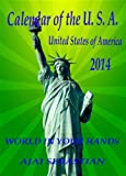 Calendar of the USA - 2014
