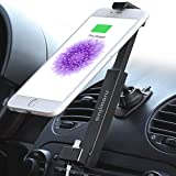 [Sinjimoru] iPhone Car Charging Mount with Lightning Cable and USB Car Charger, Installable on Dashboard and Center Console. Single-handed operating iPhone car mount or iPhone car holder compatible with iPhone 6 / 6 plus / 5 / 5s / 5c . Sinji Car Kit, iPhone Power Package.