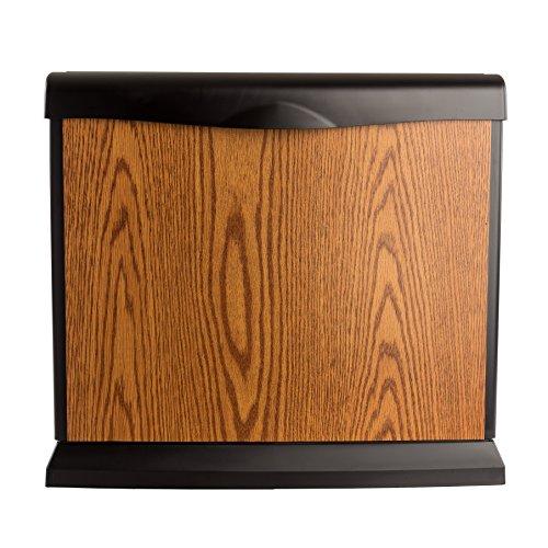 AIRCARE EA1407 Digital Whole-House Console-Style Evaporative Humidifier, Honey Oak - 1
