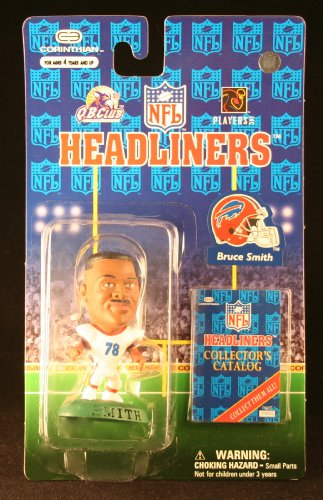 BRUCE SMITH / BUFFALO BILLS * 3 INCH * 1997 NFL Headliners Football Collector Figure