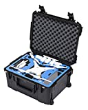 Go Professional XB-DJI-P3P Universal Wheeled Hard Case for DJI Phantom 3, Phantom FC40, Phantom 2, Phantom 2 Vision and Phantom 2 Vision+