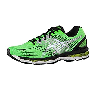Asics Herren Laufschuhe Gel-Nimbus 17 T507N Flash Green/White/Black 49